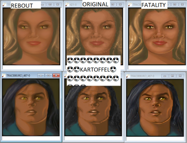 Upscaled Portraits