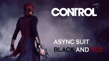 Async Suit Black and Red.