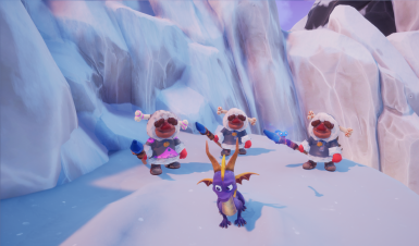 Crystal Glacier Ice Builders and Ice Wizard model changes