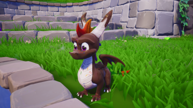 Hot Fudge Sundae Spyro Skin