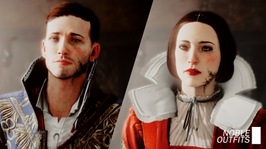 Noble Outfits - Starting Clothes Replacers and Jewelry