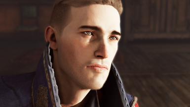 Male Complexion with Dark Eyebrows