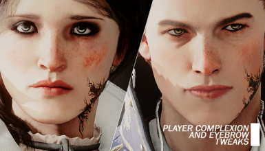 Player Complexion and Eyebrow Tweaks