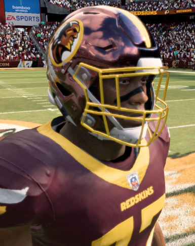 Redskins Warpaint Uniform Mod (redesign)