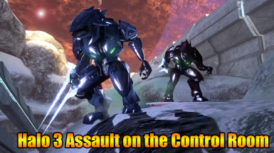 Halo 3 Assault on the Control Room (Beta)
