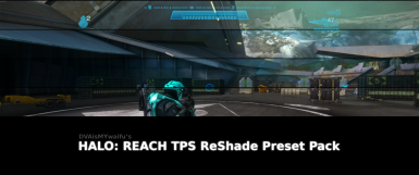 HALO REACH - Third Person Perspective ReShade Preset Pack