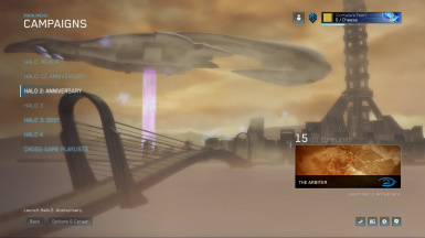 Halo 2 Colored Menu WITH MUSIC