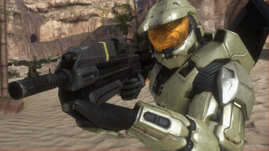Reach Assault rifle for Halo 3