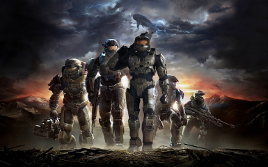 Halo Reach Campaign With Master Chief (Ft Voice Of Steve Downes)