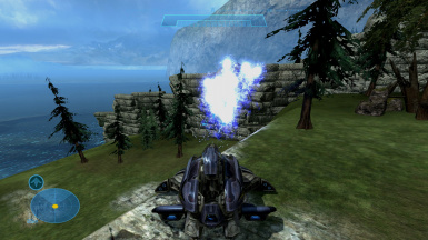 Halo Reach Forge World Fortress Battle N Gun and Vehicles Mod