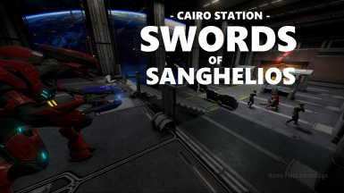 Cairo Station - Swords of Sanghelios - Halo 2 Campaign Mission Overhaul