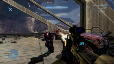 Halo 3 Fight the Elites instead of Brutes