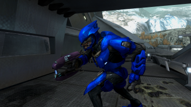Elite Minor Wielding a Plasma Rifle