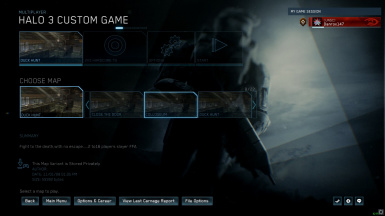 Halo 3 Custom Games (Extracted from 360)