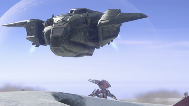 Halo 3 Flyable Pelican Any Map