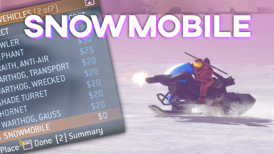 Halo 3 Snowmobile