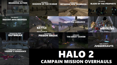 Halo 2 Campaign Mission Overhauls Collection