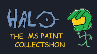 Halo The MS Paint Collection