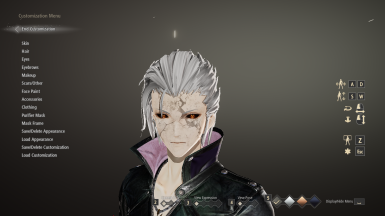 Slicked back Hair(Male) (Inspired by Vergil's hair from DMC series)