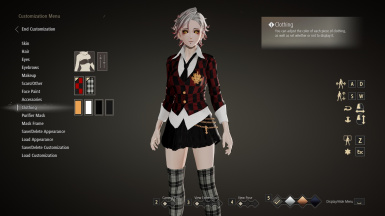 Playable School Uniform