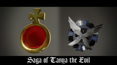 Tanya the Evil Pendant and Metal Accessories