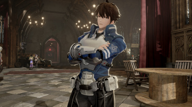 Astral Chain Player Outfit - Male