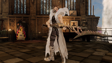 Gregorio Silva Outfit And Cape For Males