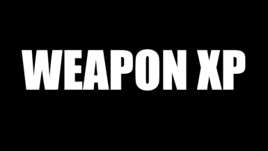 Weapon XP