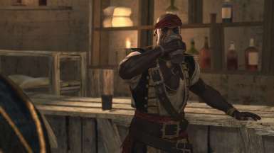 Adewale retextured outfit