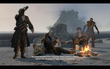 Blackbeard's outfit for Kenway