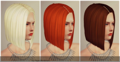 LCF1 The Modern Bob Huge Mesh and Texture Edit