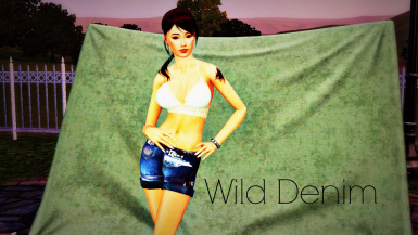 Wild Denim - Mini Shorts