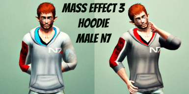 Mass Effect 3 Hoodie Male and Female