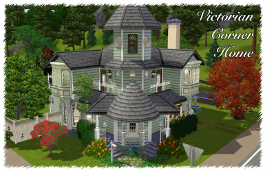 Victorian Corner Home (with Swimmable Pond)