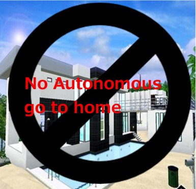 No Autonomous Go To Home