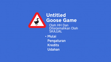 Translasi Indonesia Untitled Goose Game
