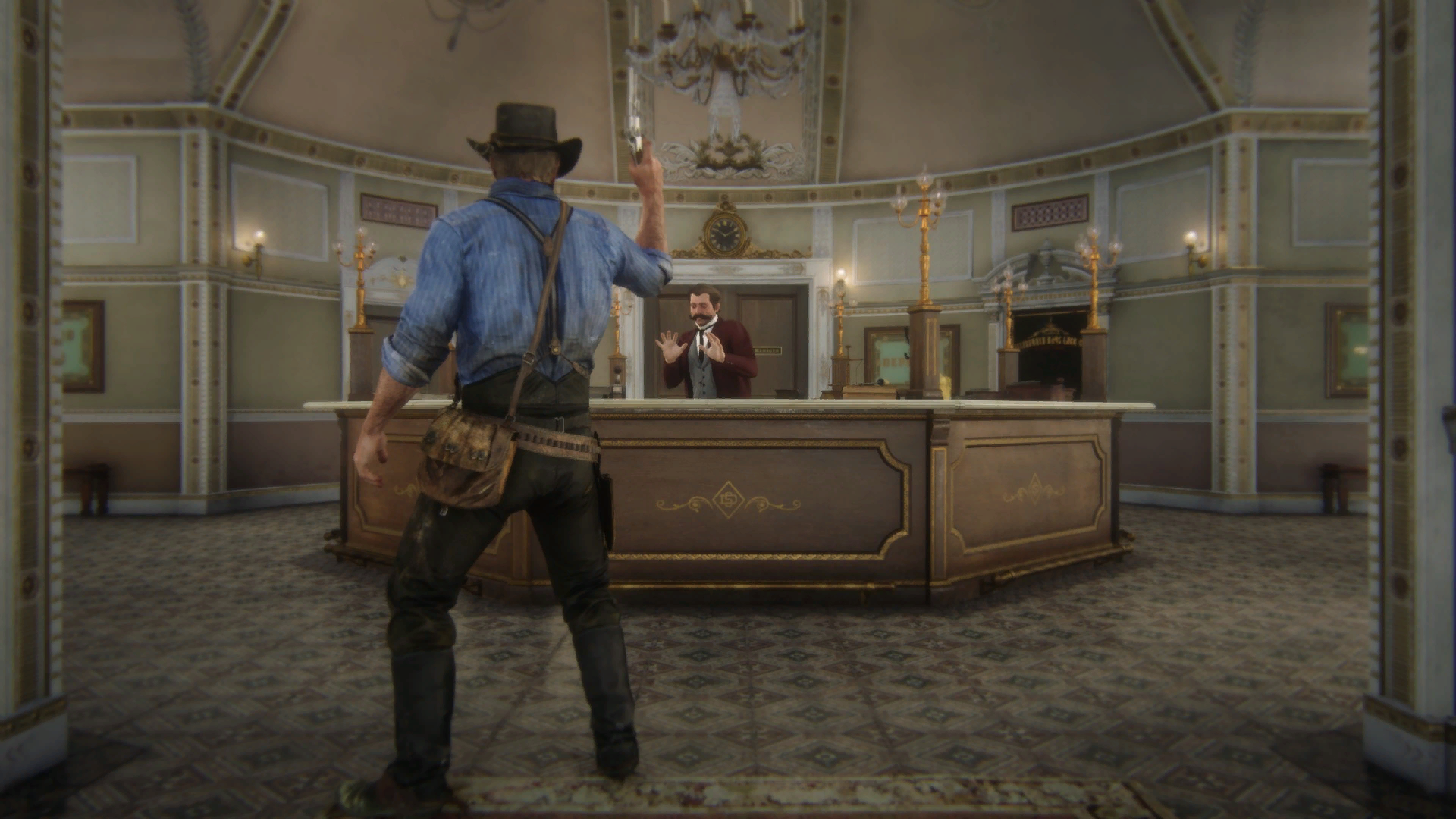 Bank Robberies RDR2
