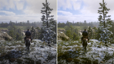 Vanilla (Left) vs Reshade ON (Right)