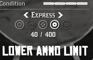 Lower Ammo Limit