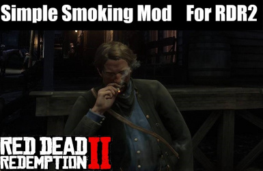 Simple Smoking Mod (WITH CONTROLLER SUPPORT)