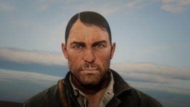 Beta facial texture restored. Picture by Eki