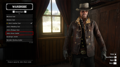 John's npc scout coyote jacket included as a new unique coat