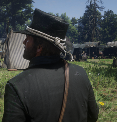 Black Coat and Hat for Arthur