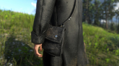 LMS Satchel, plain black is available as well