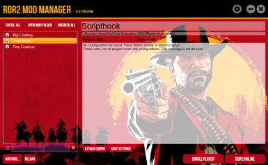 Red Dead Redemption 2 Mod Manager