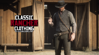 Classic Rancher Clothing - RDR1 Accurate Rancher Outfit