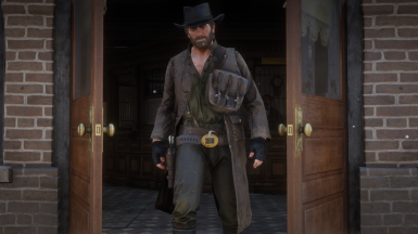 Brown Robbery Duster