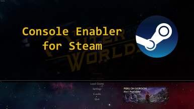 Console Enabler .dll for Steam