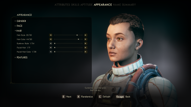 Clipping with certain hairstyles