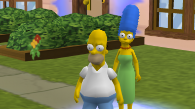 Beta Homer with Recreated Costumes